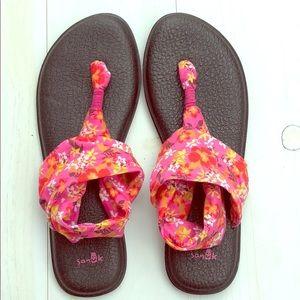 Sanuk Yoga Sling 2 Waikiki Floral Print